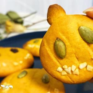 誰でも可愛く作れちゃう!簡単しっとりハロウィンかぼちゃクッキー