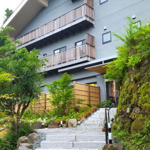 緑いっぱいの貸切露天風呂@THE HIRAMATSUHOTELS & RESORTS 仙石原