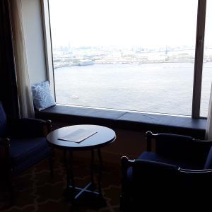 海・海・海 ベイビューのお部屋 @ ヨコハマグランドインターコンチネンタルホテル
