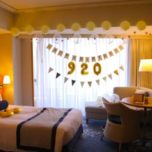 ♡ 母のお誕生日 ホテルのお部屋のデコレーション ♡