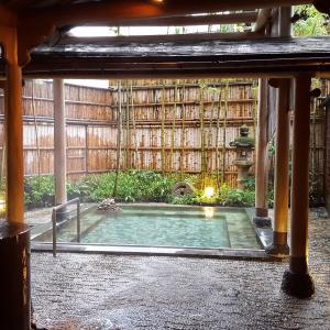湯河原の老舗旅館で温泉を満喫