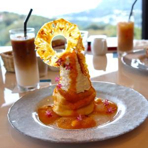 絶景を眺めながらのティータイム @ Bakery & Table Sweets 伊豆