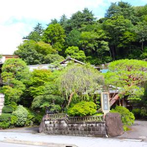 湯河原の老舗旅館「藤田屋」にチェックイン