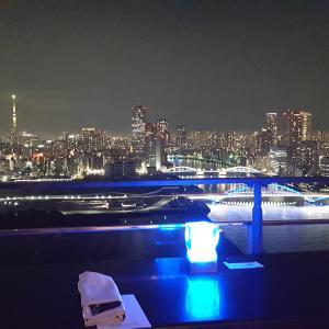 クラブラウンジからのビューが素敵なホテル ♡ メズム東京 オートグラフコレクション ホテル