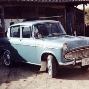 【02】高じん青眼の写真 58年間で使用した車