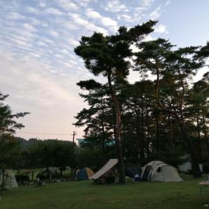 真夏のファミリーキャンプ 神石高原ティアガルテン 2019/8/17~19