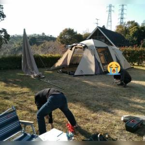 キャンプ隊長としての威厳!『冠山総合公園オートキャンプ場』2019/11/23~24 ⚫実践編