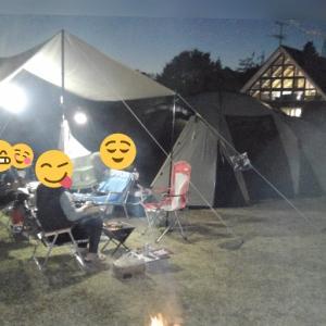 キャンプの夜にカードゲームを楽しもう!『冠山総合公園オートキャンプ場』2019/11/23~24
