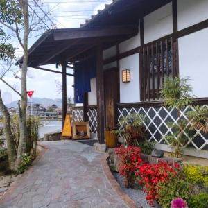 朝倉市ランチ つげ 山女魚と古処鶏 季節の料理