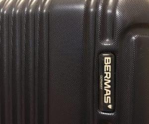 BERMASのスーツケースを買って満足している