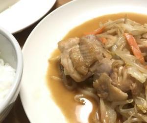 味噌ラーメンのタレで鶏肉と野菜の味噌炒めを作る