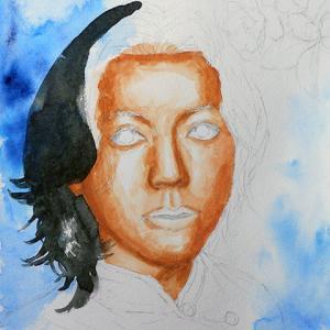 人物画練習・制作過程4
