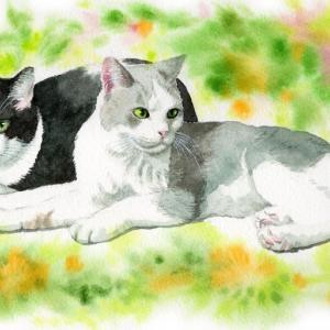 仲良しぼんちゃんと藤子さん。