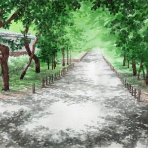 弘道館公園梅林