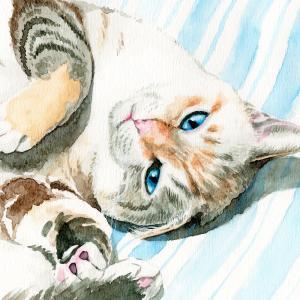 【アナログ水彩】ペット肖像画描きます【送料込み】