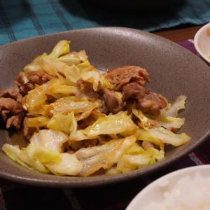 【豚肉とキャベツの炒め物】2021.6.2