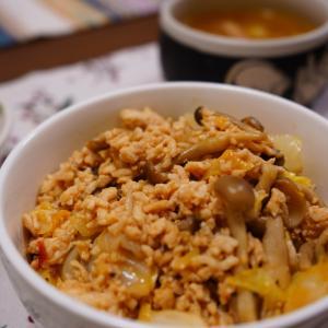 【肉味噌キャベツ丼】2021.6.5