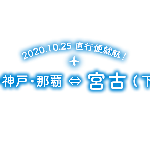 【祝】LCCスカイマーク 2020.10.25日から神戸と宮古島(下地空港)直行便就航!