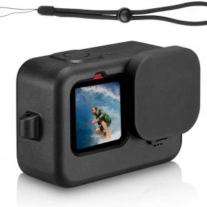 GoPro HERO9付属品【Taisioner】製GoPro9専用シリコンカバー&レンズキャンプ付き!購入しました!