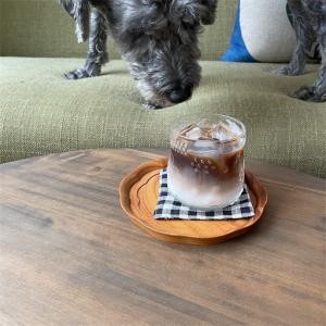 2層のアイスカフェオレ