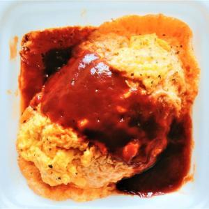 ローソンのふわとろ玉子と濃厚デミソースのオムライスは食感と酸味がふわっ