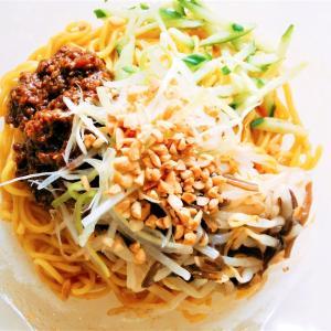 ローソンの重慶飯店監修冷し担担麺はコク旨な辛さのなかに一瞬の清涼感あり