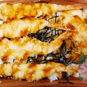 ミニストップの海老天重は麺類とセットでイケるミニサイズでも美味さはフルサイズ