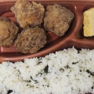 ローソンのおろしポン酢さっぱり!これが鶏竜田揚げ弁当は爽やかな美味さ