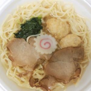 ローソンの中華蕎麦にし乃監修山椒そばは爽やかに香る山椒であっさり食べやすい