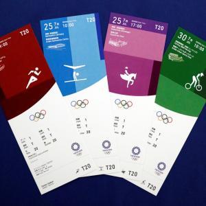 【Design】和をイメージした「東京2020Olympicチケット」