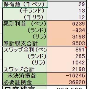8/3 【スポット購入】1000ランド 【定期購入】1000ペソ
