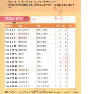 さくら 学研 算数10A6集 国語10A56集 ちえ103集 終了