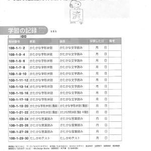 さくら 学研国語10B級ー1集 終了