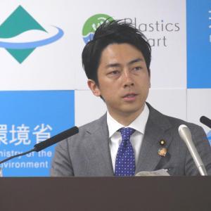 小泉環境大臣 総裁候補は環境政策を提言すべきと語る。自分はどういう政策?