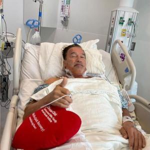 シュワちゃん 心臓手術! 術後良好! ターミネーターは絶対復活する!