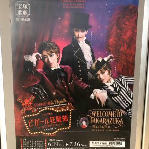 【宝塚】たまきち退団発表…龍真咲さんの退団公演を見て心を落ち着ける