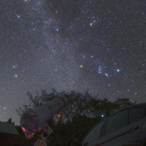 二か月ぶりの星空を伊豆で楽しみました