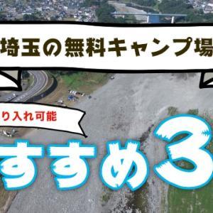 埼玉のファミリーキャンプにおすすめな無料キャンプ場3選