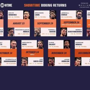 年内のPBCボクシング興行が発表。ワクワクが止まらない。