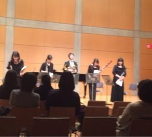 音楽教室の発表会♪