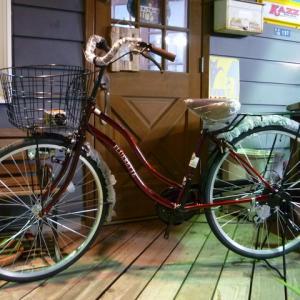 お手頃価格の自転車入荷です