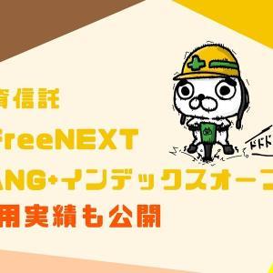 【SBI証券で投資信託】iFreeNEXT FANG+インデックスオープンへの投資を開始。