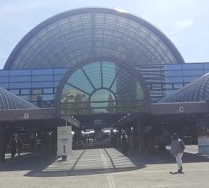 大阪散歩2018 11.インテックス大阪