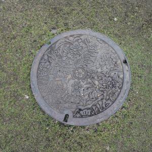 奈良に行く(2019.1)146.奈良市のマンホール