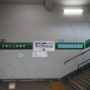 生駒山に登る(2019.5)15.鳥居前駅
