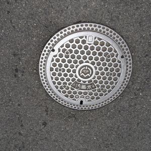 大阪散歩2018 135.忠岡町のマンホール
