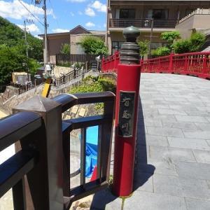 西宮・有馬温泉に行く(2019.8)109.有馬川