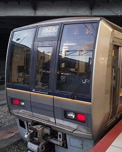 大阪散歩(2019)121.奈良行き直通快速