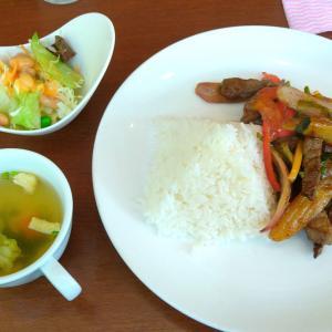 六本木のタイ料理/ペルー料理店【ジャイタイ・ナスカ】のロモ・サルタド