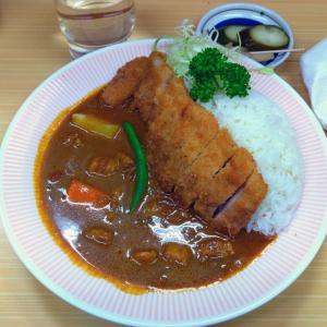 町田のカレー店【アサノ】のカツカレー